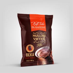 Mulliri Vjeter® Decaffeinated Turkish Coffee 100g