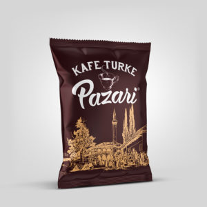 Pazari® 100g - Ground Roasted Turkish Coffee