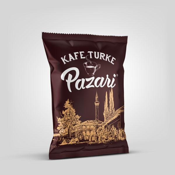 Pazari® 100g - Ground Roasted Turkish Coffee
