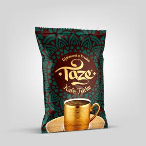 Taze® 100g - Ground Roasted Turkish Coffee