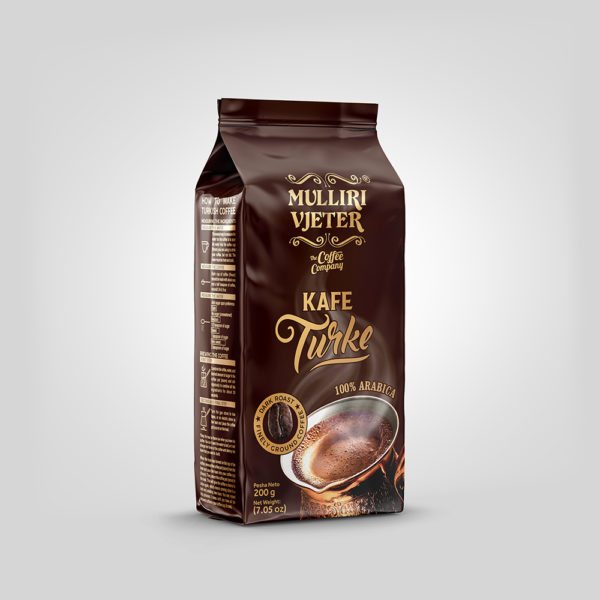 Mulliri Vjeter® Ground Roasted Turkish Coffee 200g